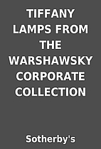 TIFFANY LAMPS FROM THE WARSHAWSKY CORPORATE…
