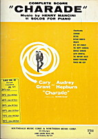 Charade: 11 solos for piano by Henry Mancini