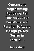 Concurrent Programming: Fundamental…
