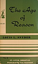 The age of reason by Louis Leo Snyder