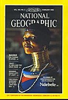 National Geographic Magazine 1986 v169 #2…