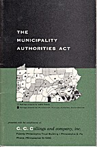 The Municipality Authorities Act and Related…