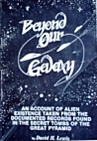Beyond Our Galaxy by David H. Lewis