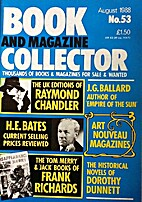 Book and Magazine Collector August 1988 -…