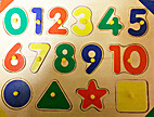 Puzzle - Numbers & Shapes by Imaginarium…