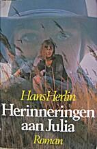 Herinneringen aan Julia by Hans Herlin