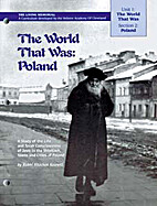 The World That Was: Poland: A Study of the…
