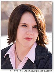 Author photo. Photo by Elizabeth Strauss