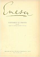 Cantabile and Presto by George Enescu