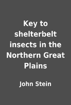Key to shelterbelt insects in the Northern…