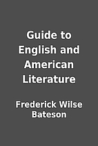 Guide to English and American Literature by…