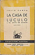 La casa de Luculo (Clasicos del Humor, 7) by…
