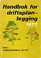 Handbok i driftsplanlegging 1977 by Finn…