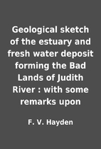 Geological sketch of the estuary and fresh…
