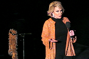 Author photo. Joan Rivers opens the E4 Udderbelly Southbank festival programme, 2009 [credit: user Underbelly Limited from Flickr via Wikipedia]