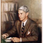 Author photo. James G. Leyburn [portrait by Steven Polson]