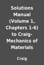 Solutions Manual (Volume 1, Chapters 1-6) to…
