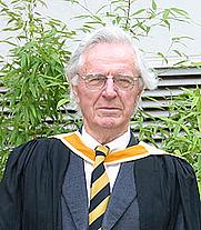 Author photo. Arnold Wolfendale [credit: Durham University]