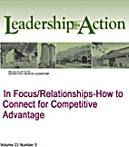 In Focus/Relationships-How to Connect for…