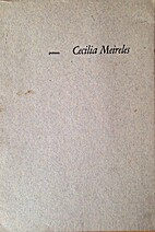 Poèmes by Cecília Meireles