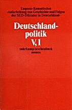 Deutschlandpolitik, innerdeutsche…