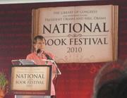 Author photo. National Book Festival, Washington, DC - 2010