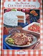 The Best of Country Cooking 2003 by Unkown