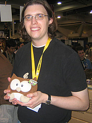 Author photo. San Diego Comic-Con 2006<br>Copyright © 2006 <a href=&quot;http://ronhogan.tumblr.com&quot;>Ron Hogan</a>