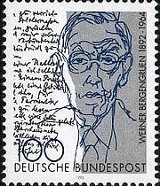 Author photo. Deutsche Bundespost / Wikimedia Commons
