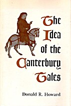 The Idea of the Canterbury Tales by Donald…