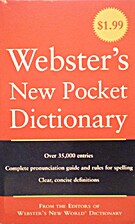 Webster's New Pocket Dictionary by…