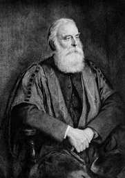 Author photo. Image from <b><i>Notes on English etymology; chiefly reprinted from the Transactions of the Philological society</i></b> (1901) by Walter William Skeat