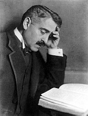 Author photo. From <a href=&quot;http://de.wikipedia.org/wiki/Bild:Aby_Warburg.jpg&quot;>Wikipedia</a>