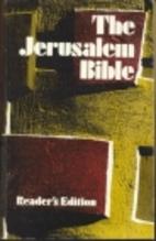 The Jerusalem Bible by Alexander Jones