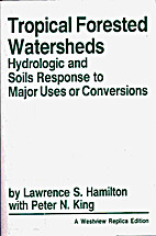 Tropical forested watersheds : hydrologic…