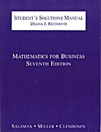 Mathematics for Business (7th Edition),…