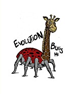 Coloring Book: Evolution Bugs Me by Ed…
