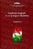 Gazdasági alapjogok és az új magyar…