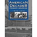 American Decades: 1970-1979 by Victor Bondi