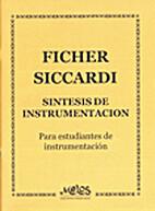 Sintesis de Instrumentacion by J. Fischer