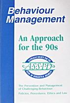 Behaviour Management: An Approach for the…