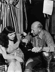 Author photo. Cecil B. DeMille with Claudette Colbert: Image © <a href=&quot;http://www.bildarchiv.at/&quot;>ÖNB/Wien</a>