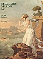 Vieux Livres D'europe Inc. Rare Books…