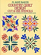 Country Quilt Design Cut & Use Stencils