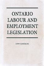 Ontario Labour and Employment Legislation by…