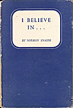 I believe in (RBC edition) by Norman Henry…