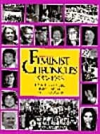 Feminist Chronicles: 1953-1993 by Toni…