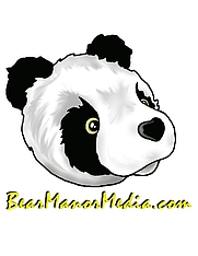 Author photo. Logo of BearManor Media