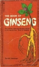 The book of ginseng by Sarah Harriman