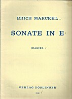 Sonate in E (1945) by Erich Marckhl